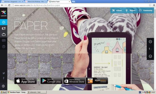 Bamboo Paper App