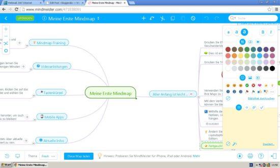 MindMeister - Online Tool