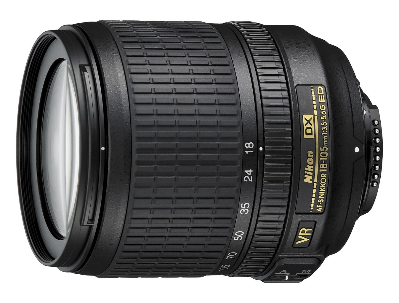 Flexibel und schnell einsetzbar - Das 18-105mm Zoomobjektiv. Quelle: Nikonbilddatenbank