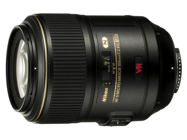 Das 105mm Makro-Objektiv von Nikon. Bildquelle: Nikon Bilddatenbank