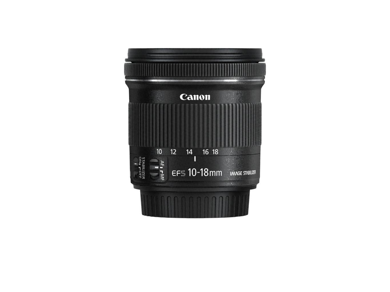 Für Canonliebhaber - Das 10-18mm Ultraweitwinkel Objektiv. Quelle: Canon Presse Center