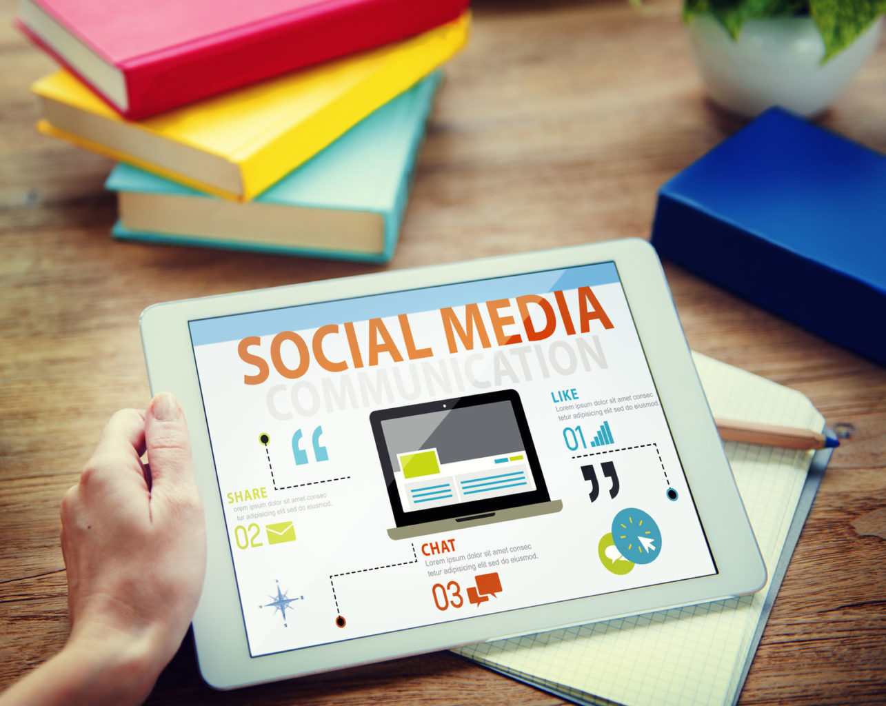 Blod oder soziale Netzwerke Bild