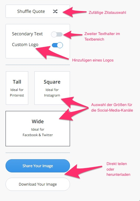 Pablo by Buffer ist eine Web-App für die Social-Media-Kanäle