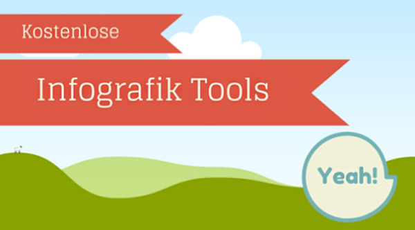 Dani Schenker stellt auf dem Blog Zielbar sechs kostenlose Tools für Infografiken vor.