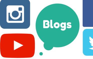 Die Icons von Instagram, Facebook, YoutTube und Twitter auf einem weißen Hintergrund.