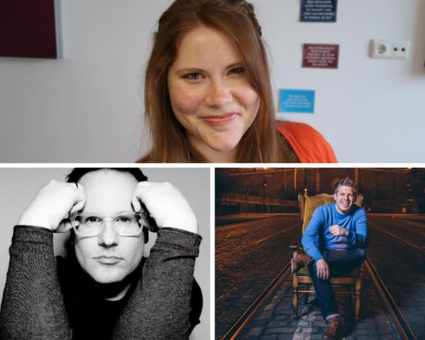 Speaker Blog4Business Digital Nora Breuker, Rouven Kasten und Roman Rackwitz